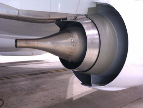Image result for 737ng engine exhaust nozzle