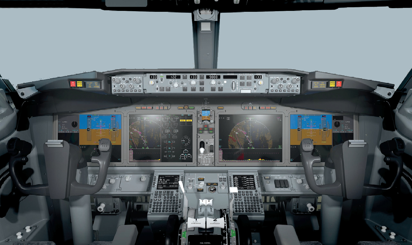 737 MAX flightdeck