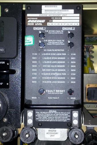 thrust reverser control unit